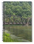 New River Scene 15 B Spiral Notebook