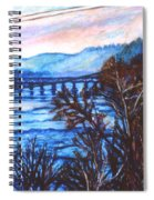 New River Trestle In Fall Spiral Notebook