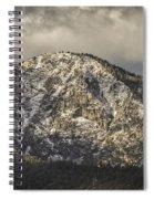 New Snow On Maggie's Peak Spiral Notebook