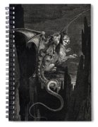 New Terror I Conceived From Dantes Inferno Spiral Notebook