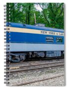New York And Lake Erie Railroad Spiral Notebook