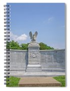 New York Auxiliary State Monument Spiral Notebook