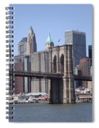 New York Bridge 3 Spiral Notebook