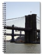 New York Bridge 5 Spiral Notebook