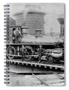 New York Central, 1880 Spiral Notebook