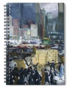 New York City 1900s Spiral Notebook