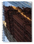 New York City - An Angled View Of The Potter Building At Sunrise Spiral Notebook