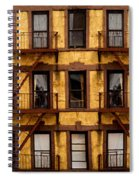 New York City Apartment Building Study Spiral Notebook