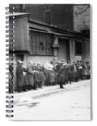 New York City Bread Line Spiral Notebook