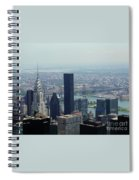 New York City Chrysler Building Spiral Notebook
