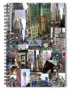 New York City Collage Spiral Notebook