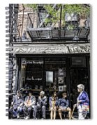 New York City Faces - Another Look Spiral Notebook