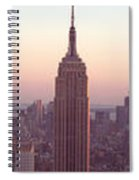 New York City - Manhattan Panorama Spiral Notebook