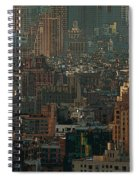 New York City Posterized Spiral Notebook