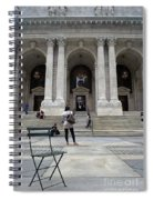 New York City Public Library Spiral Notebook