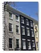New York City Rainbow Row Spiral Notebook