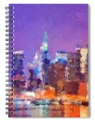 New York City - Skyline 0 Spiral Notebook