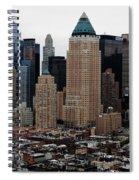 New York City Skyline 19 Spiral Notebook