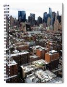 New York City Skyline 20 Spiral Notebook