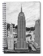 New York City Skyline - Lego Spiral Notebook