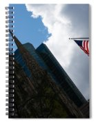 New York City Stars And Stripes Spiral Notebook