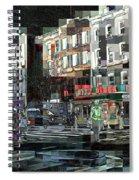 New York City Streets - Ritz Diner Spiral Notebook