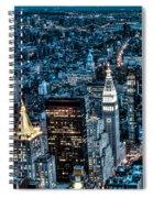 New York City Triptych Part 1 Spiral Notebook