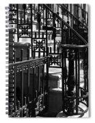 New York City Wrought Iron Spiral Notebook
