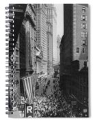 New York Curb Market, 1918 Spiral Notebook