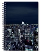 New York Evening Spiral Notebook