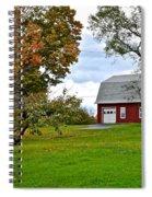 New York Farm Spiral Notebook
