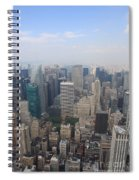 New York From Above Spiral Notebook