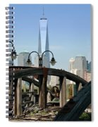 New York From New Jersey - Image 1633-01 Spiral Notebook
