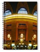 New York - Grand Central Station Spiral Notebook