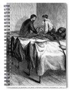 New York: Heatstroke, 1876 Spiral Notebook