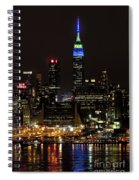 New York Honors Seattle Seahawks Spiral Notebook