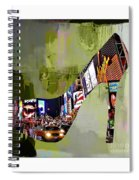 New York In A Shoe Spiral Notebook