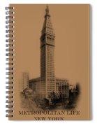 New York Landmarks 2 Spiral Notebook