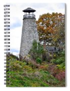 New York Lighthouse Spiral Notebook