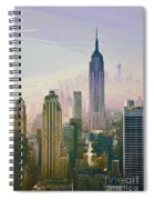 New York Misty Morning Spiral Notebook