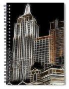 New York New York In Las Vegas Spiral Notebook