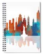 New York New York Skyline  Spiral Notebook