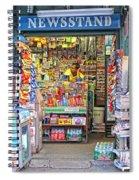 New York Newsstand Spiral Notebook