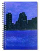 New York Night Spiral Notebook