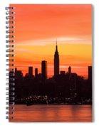 New York November Dawn Spiral Notebook