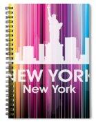 New York Ny 2 Spiral Notebook