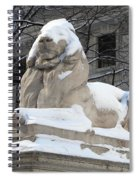 New York Public Library Lion Spiral Notebook