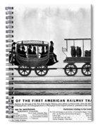 New York Railroad, 1832 Spiral Notebook