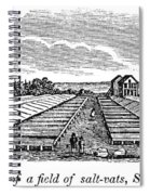 New York Salina, 1841 Spiral Notebook