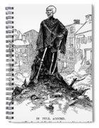 New York: Sanitation, 1885 Spiral Notebook